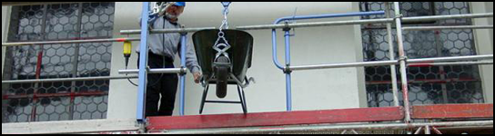 Unguided (Top Mounted) Scaffolding Hoists