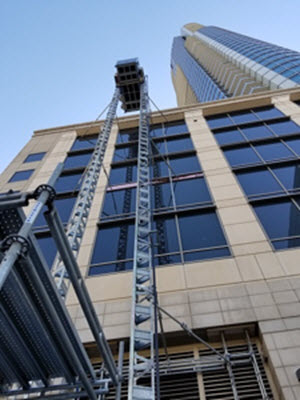 Construction Elevator Rentals - Temporary Construction Hoist