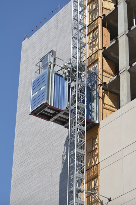 Custom Construction Hoist