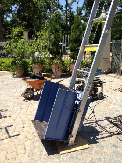 Ladder Lifts - Elevator & Shingle Ladder Hoists - Ladder