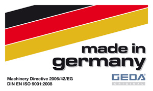 GEDA Products, Made in Germany
