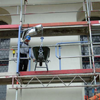 Unguided Scaffolding Hoists